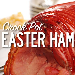 Crock Pot Easter Ham.