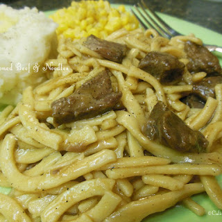 Old-Fashioned Beef & Noodles