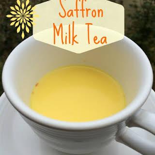 Saffron Milk Tea.