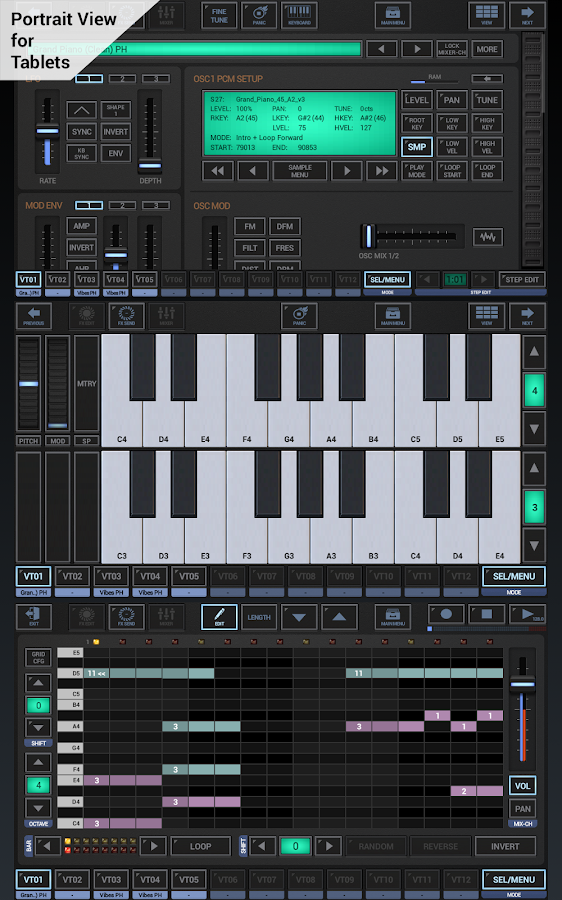 G-Stomper VA-Beast Synth DEMO- screenshot