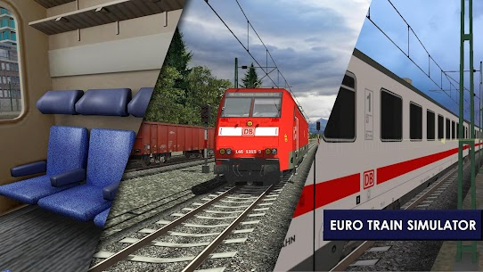 Euro Train Simulator 2 1.0.5.6 Apk Mod (Unlocked) Download 2018 5