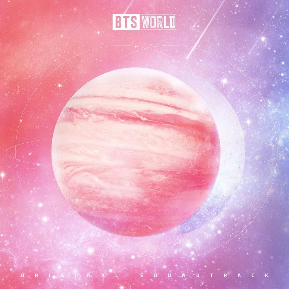 BTS WORLD Album Cover