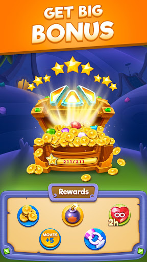Bling Crush - Jewel & Gems Match 3 Puzzle Games apkslow screenshots 15