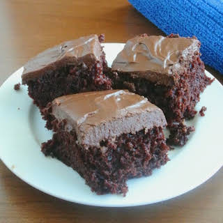 Scrumptiously Simple Chocolate Cake.