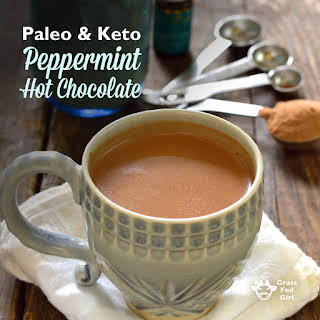 Peppermint Hot Chocolate.