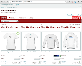 Photo: Magento Hackathon Schwag Store