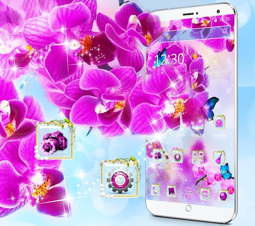 Pink Orchid 2018 New Theme 1.1.2 screenshots 4
