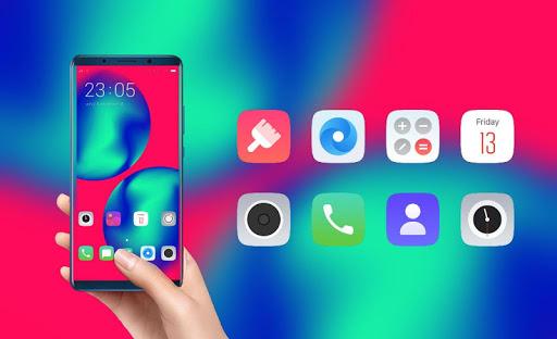 Magical color theme | Allview Soul X5 Pro launcher screenshot 4