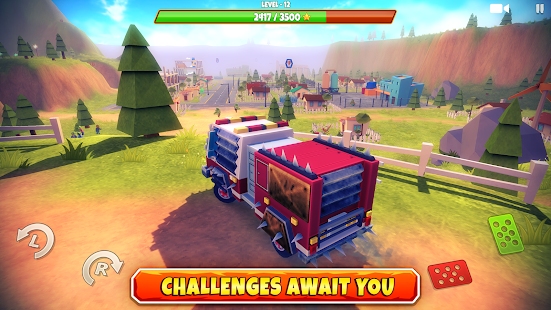 Zombie Offroad Safari Screenshot