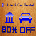 Low Cost Hotel And Car Rental icon