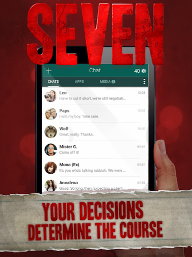 Seven - Deadly Revelation - Horror Chat Adventure 1.5.59 screenshots 7