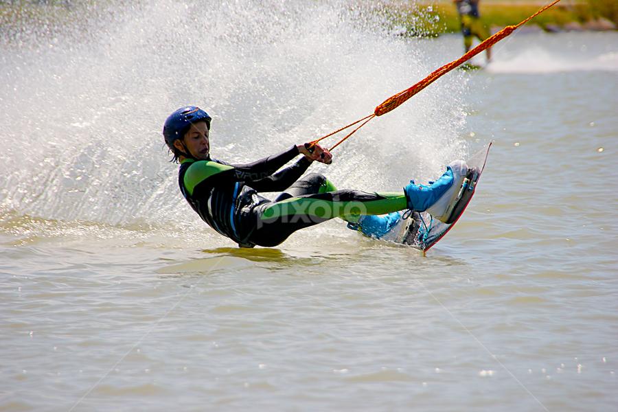 PARK DAROM WATERSKI by Joel Adolfo - Sports & Fitness Watersports ( watersports, sports&fitness )