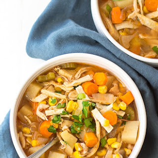 Crock Pot Spicy Chicken Soup Recipe