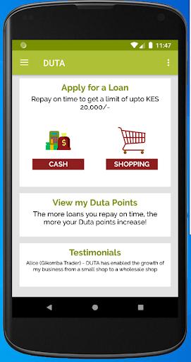 Duta - Personal Loans App screenshot 2