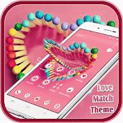 Pink theme love girlish APK for Bluestacks