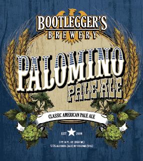 Logo of Bootlegger's Palomino Pale Ale