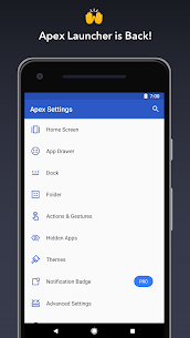 Apex Launcher Pro Final V4.9.16 MOD APK (UNLOCKED) 1