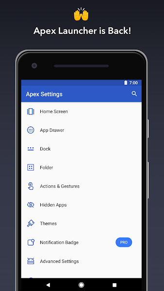 Apex Launcher Pro Screenshot Image