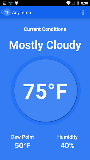 AnyTemp - Weather Temperature