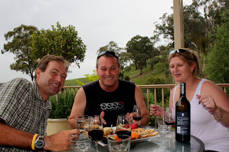 Photo: Year 2 Day 140 - Tucking in to a Cheese Platter and Wine at Yileena Vineyard #2