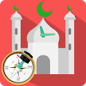 Prayer Times: Qibla Compass & Ramadan 2019 icon