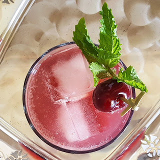 Sweet Cherry Bourbon Smash Recipe