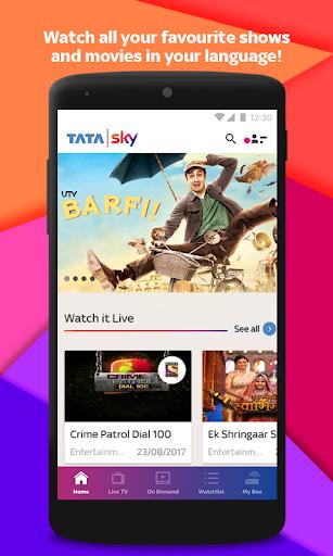 Tata Sky Mobile- Live TV, Movies, Sports, Recharge 9.2 screenshots 1