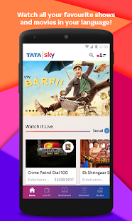 Tata Sky Mobile – Live TV & Recharge Screenshot