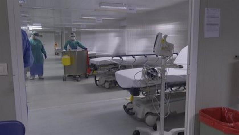 Los hospitales de la provincia continúan rebajando su presión covid.