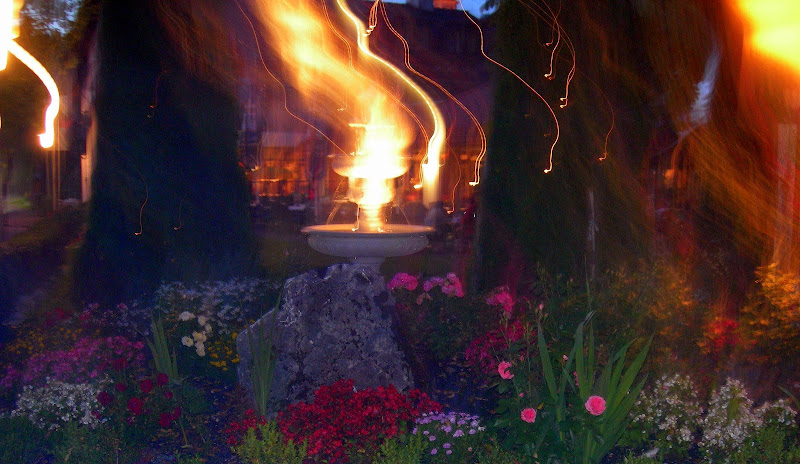 Aiuola in fiamme di lady oscar