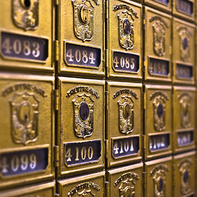 Mailboxes by Wilfredo Garrido - Products & Objects Business Objects ( post office, mailboxes, objects, products )