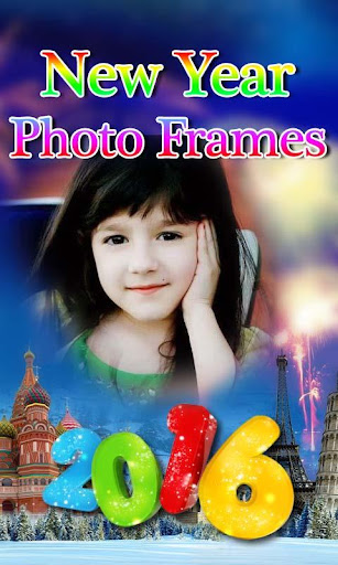 New Year photo frames 2016