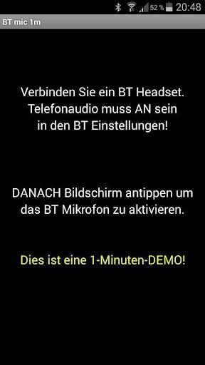 BT mic 1m