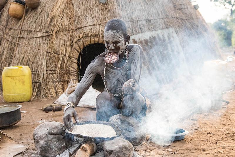 Donna Mursi, Etiopia. di Cristhian Raimondi