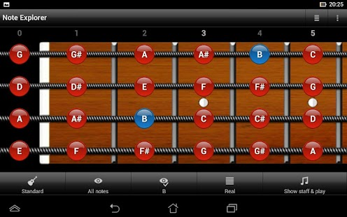 Bass Guitar Note Trainer- screenshot thumbnail