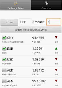 Exchange rate. All currency- screenshot thumbnail