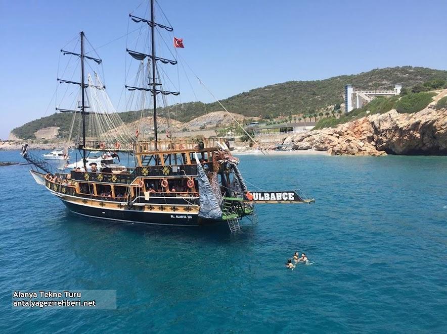 Alanya Tekne Turu