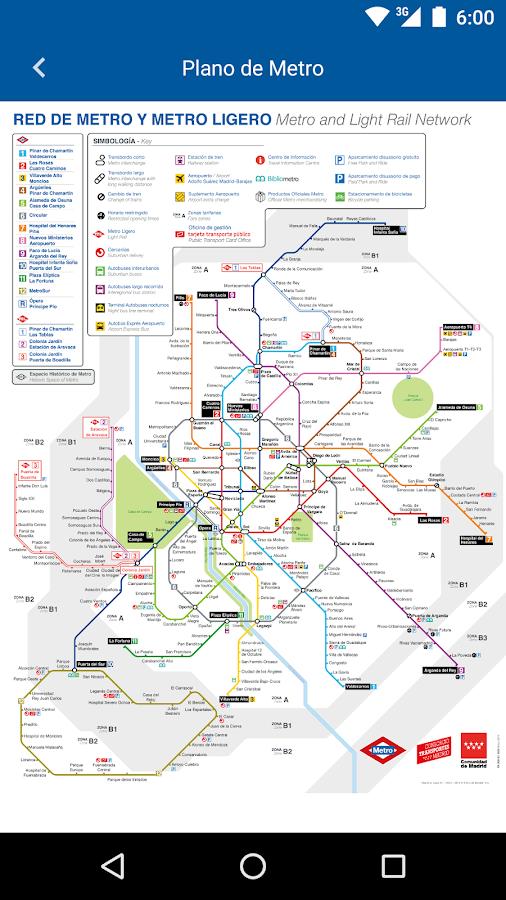 Metro de Madrid Oficial  Aplicaciones de Android en Google Play