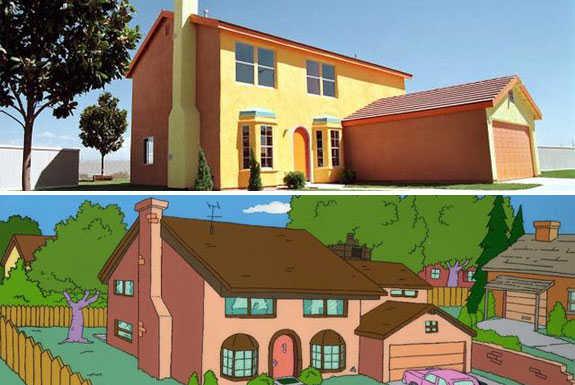 rumah kartun, 7 Rumah Kartun Yang Ada Di Dunia Nyata