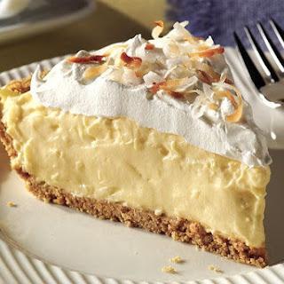 Coconut Cream Pie With Vanilla Pudding Recipes