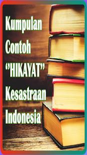KUMPULAN HIKAYAT KESASTRAAN INDONESIA - náhled