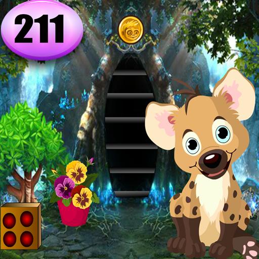 Cute Hyena Rescue Game Best Escape Game 211