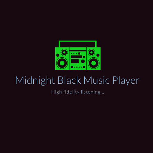 Midnight Black Music player APK Cracked Download