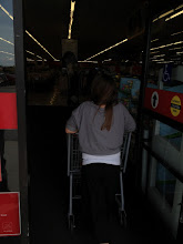 Photo: It was a family affair.  I had my two daughters and husband in tow.  My eldest pushed the cart.
