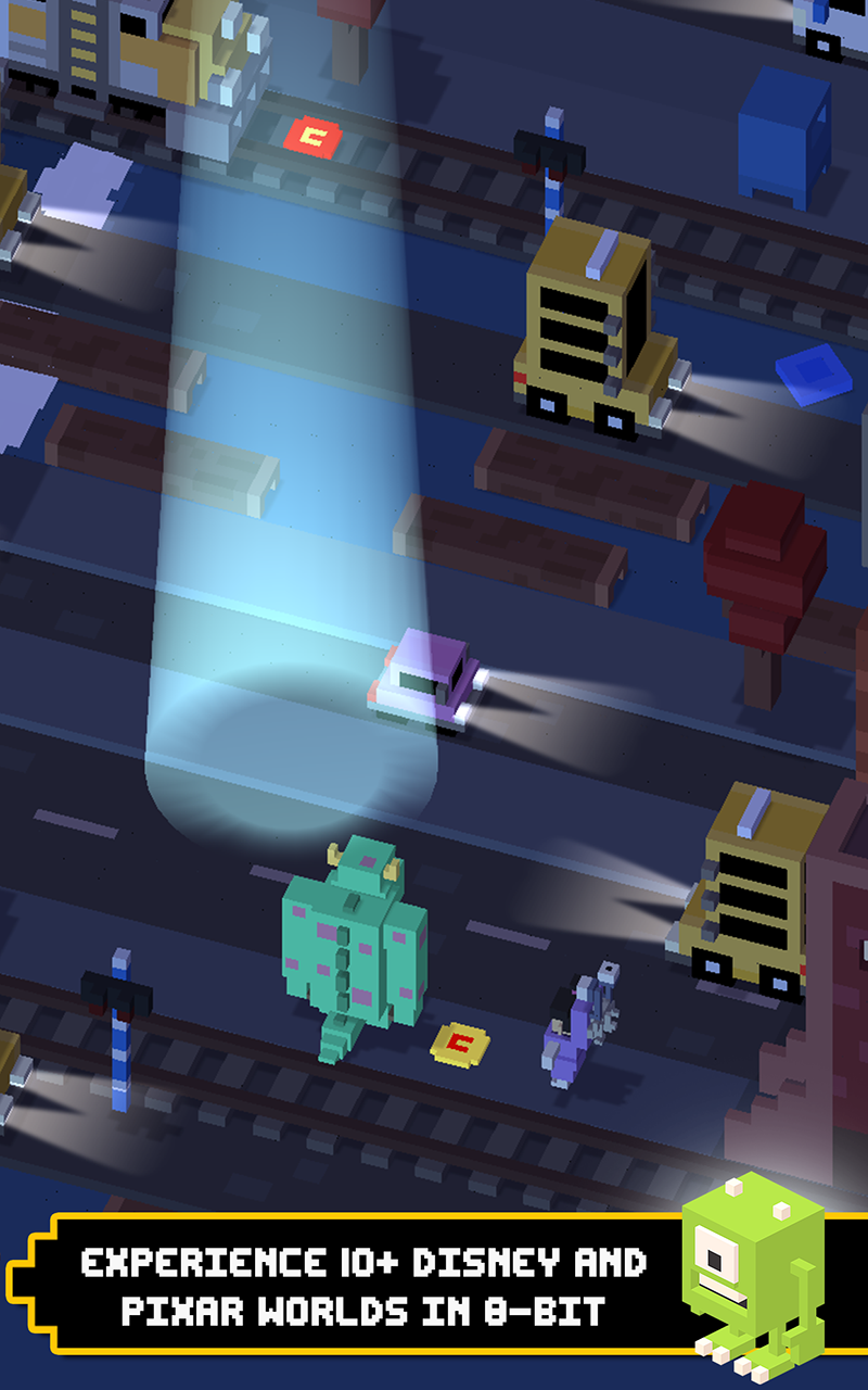 Disney Crossy Road screenshot #2