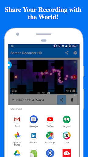 Screen Recorder - Record with Facecam And Audio  screenshots 4