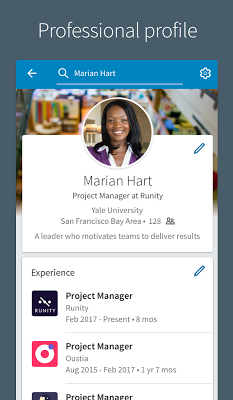 LinkedIn - screenshot