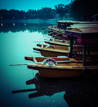 Photo: Here are some boats near Beihai Park in Beijing.
