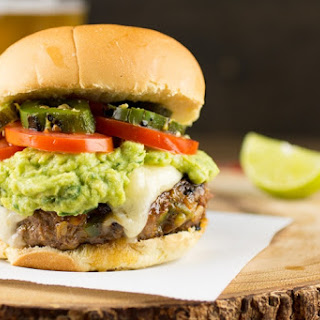 Mexican Style Jalapeno Burger.
