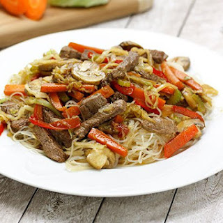 Beef & Mushroom Vermicelli